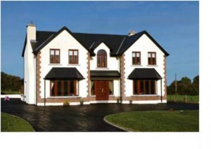 Timberframe house located in Ireland Image